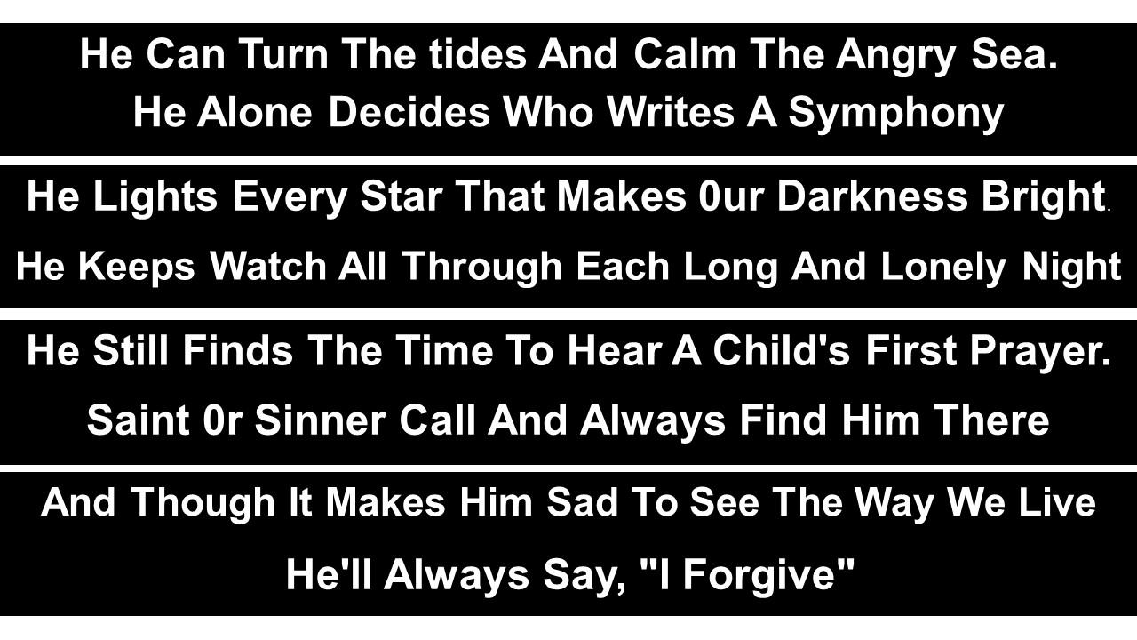 Jesus Calms The Storm — Prophet Tony Mathias – Eagle Vision